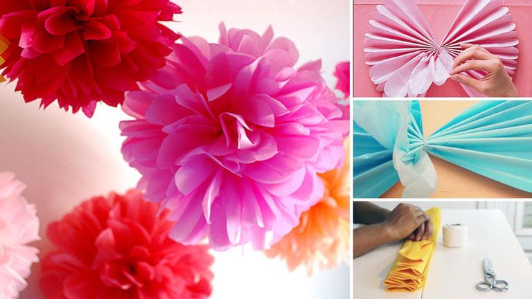 Voici Comment Realiser De Magnifiques Fleurs En Papiers De Soie