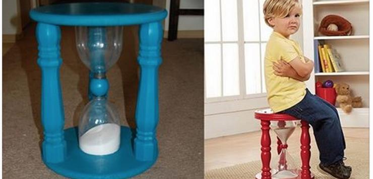 Fabriquer un tabouret avec un sablier pour calmer votre enfant ...