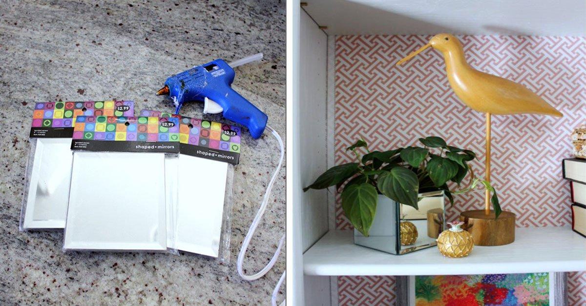 Faites votre propre boite miroir tendance avec juste for Faites votre propre maison