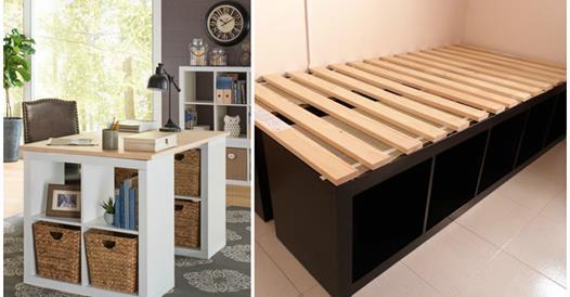30 id es d co faire pour la maison avec des cubes de - Rangement maison organisation ...