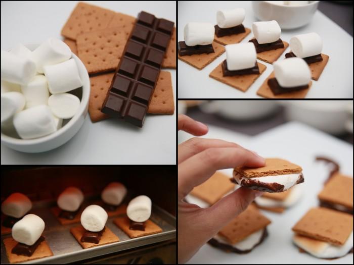 Biscuit sandwich au guimauve et au chocolat une recette d licieuse faire en 5 minutes - Decoration en chocolat trucs et astuces ...